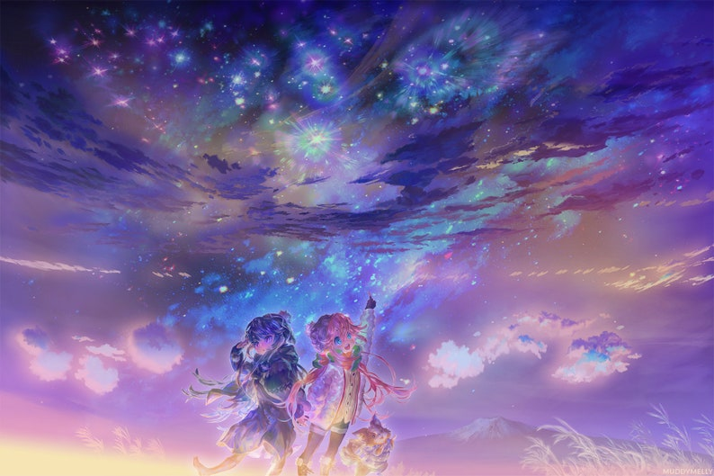 Yuru Camp 18x12 Poster Rin And Nadeshiko Chikuwa image 0
