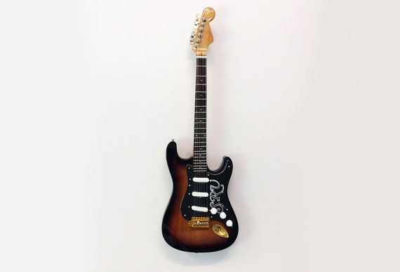 Stevie Ray Vaughan Number One Fender Stratocaster Miniature