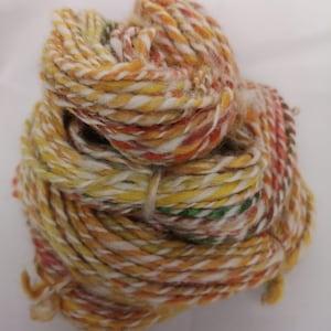 Hand Spun Yarn FFF Twisted Rowan