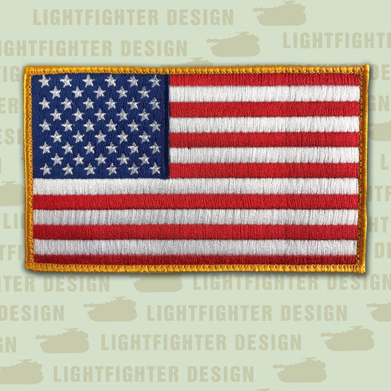"LOT OF 10-13 STAR BETSY ROSS US FLAG PATCH 1 3//4/"" BY 2 3//4/"" NEW"