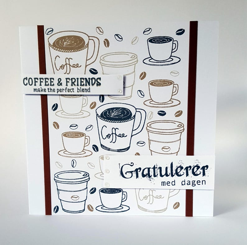 Coffee Lover Card Birthday For Him Husband