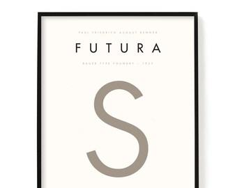 Futura font   Etsy