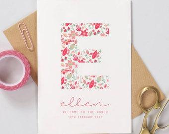 baby card etsy