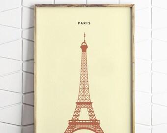 Paris Minimalist Print