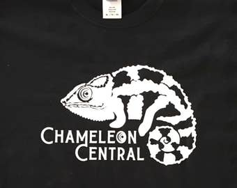 f5c9fc2789daad Chameleon Central USA Panther Logo T-shirt