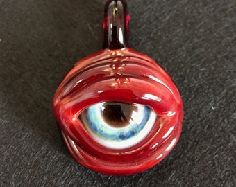 Glass Eye Pendant