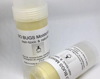 NO BUGS Moisturizer  Non-Toxic Natural Skin Care Bug Repeller