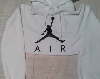 ca1f858ee9cc4 Jordan Jordan crop hoodie Jordan Crop Jordan hoodie crop hoodie white crop