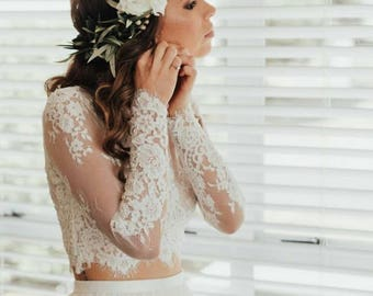 Elegant Long Sleeve Separates