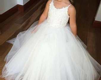 25a88941c9 Yours   Mine Bridal Wedding Flower Girl Dress