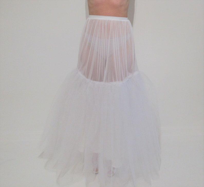 696ae9253510a Yours & Mine Bridal Women's Crinoline Slip, Wedding Dress Slip, Tulle Skirt  Slip, Elastic Wasitband, Medium Puff