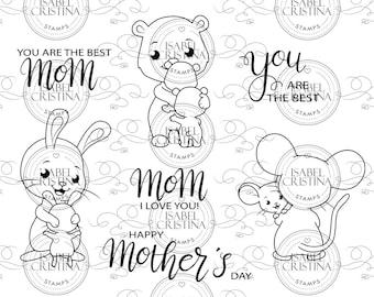 Mom, I love you! - IsabelCristinaStamps