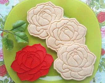 Rose cookie cutter