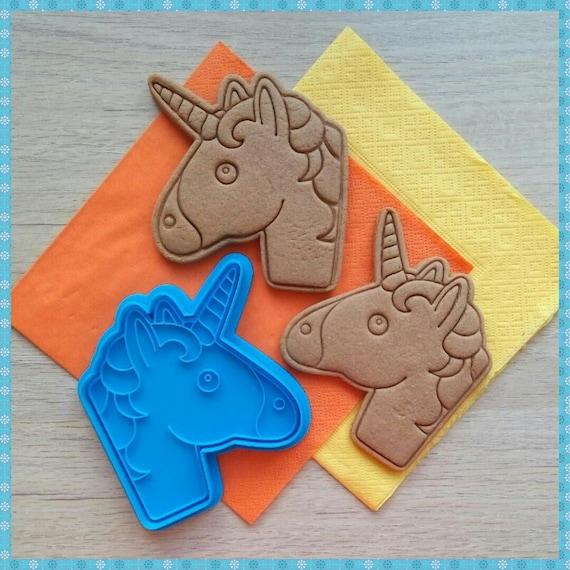 Unicorn Cookie Cutter. 3D Printed Cutters. Dough Cutter