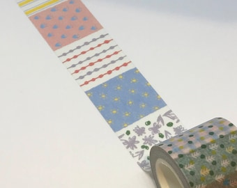 Beautiful Patchwork Washi