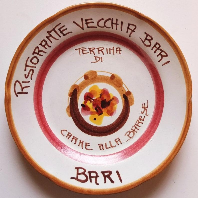 Vintage Buon Ricordo Italian Restaurant Dishes Set of 10