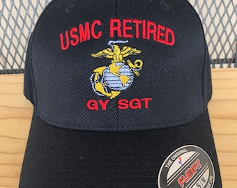 62a5047ba196a USMC Retired hat