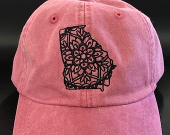 c69c59a4f72 Georgia mandala hat