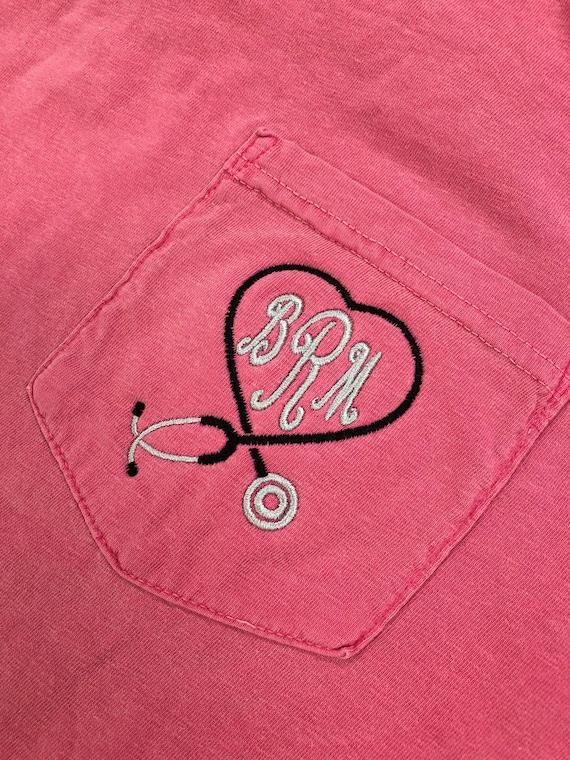 Custom Trucker Hat Richardson Doctor Heart Stethoscope C Embroidery Cotton Snaps