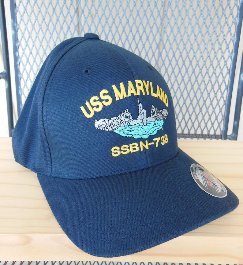 Navy Command Hat FlexFit Ball Cap Boat Hat Enlisted  5407ede11e29