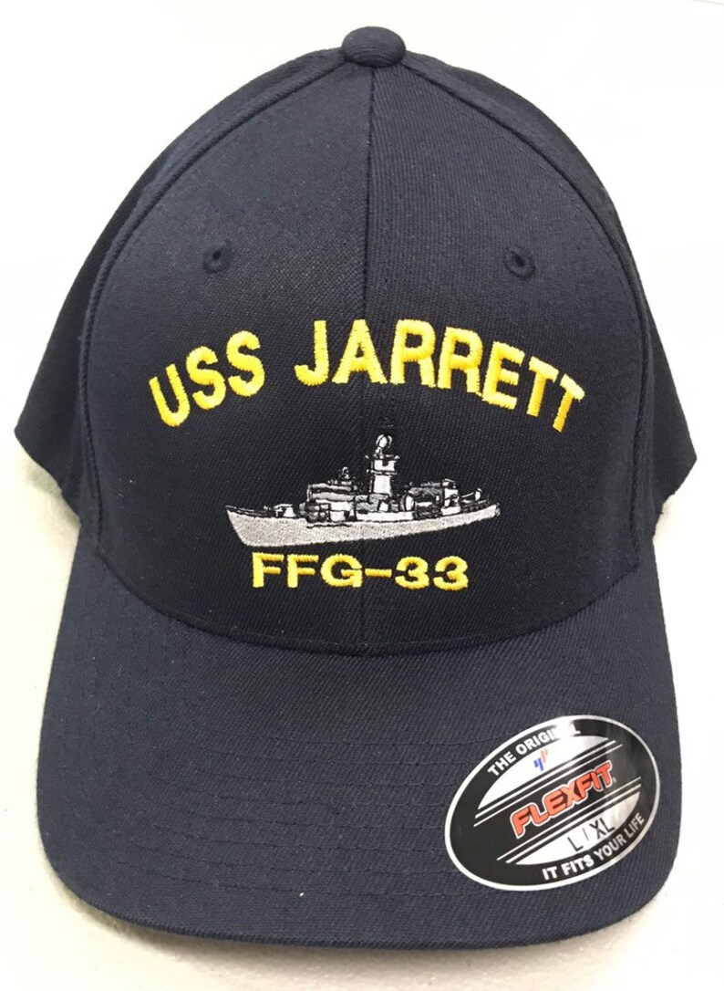 Navy Frigate Hat, Naval Command hat, Surface boat, FlexFit Ball Cap,  Military Warship Hat