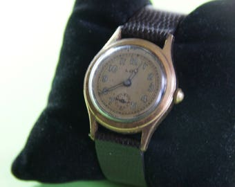 Vintage militaireWWII LOV watch - mechanical with manual winding