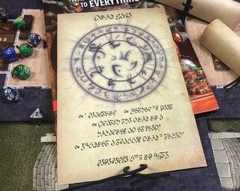 5e Spell Scrolls and TTRPG Game Props by ArcanistsCompendium
