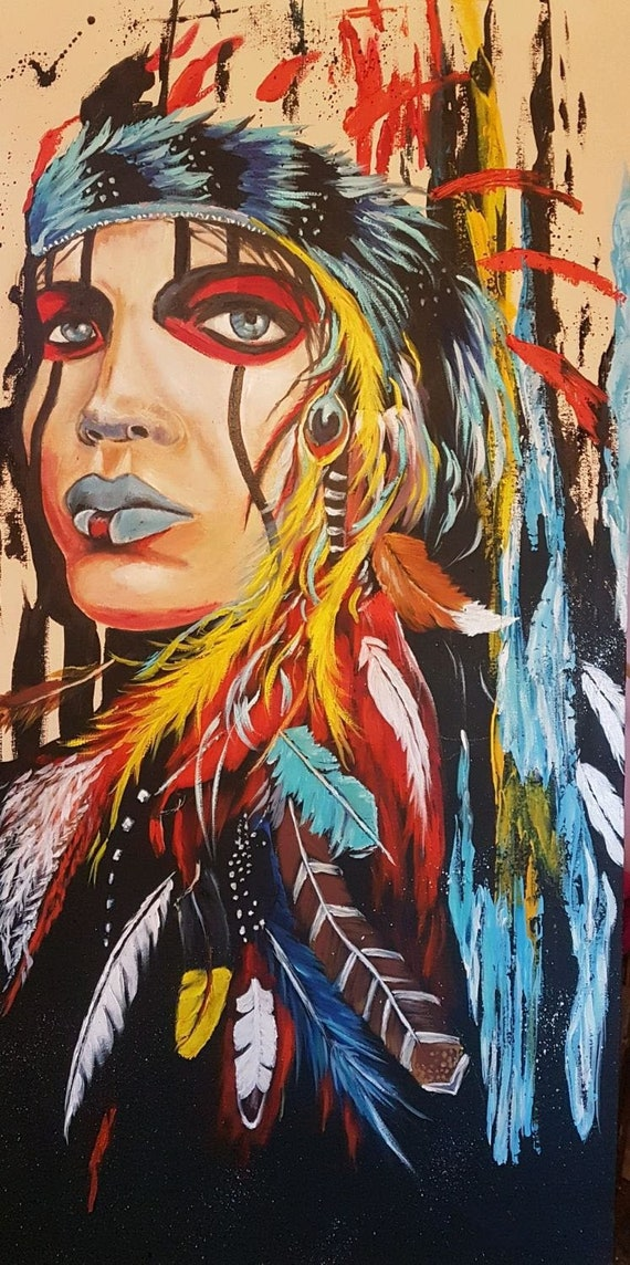 Native American Woman oil painting on canvas, Portrait Pop Art style, on native american bathtubs, native american fleece jackets, native american diy, native american style sweatshirts, native american alcoholism history, native american style bedding, native american style clothing, native american marble, native american chaps, native american and black hair, native american bathroom rugs, native american style jackets, native american hoodies, native american toilets, native american haters, native american boots for men, native american boot warmer, native american flooring, native american necklaces bag,