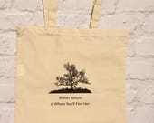 Organic Cotton Bag - '...