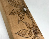 Natural Wood Incense Hold...