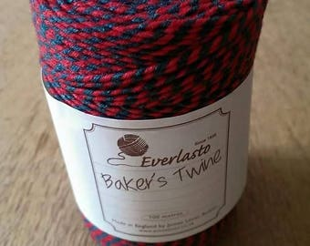 Bakers twine - red & green