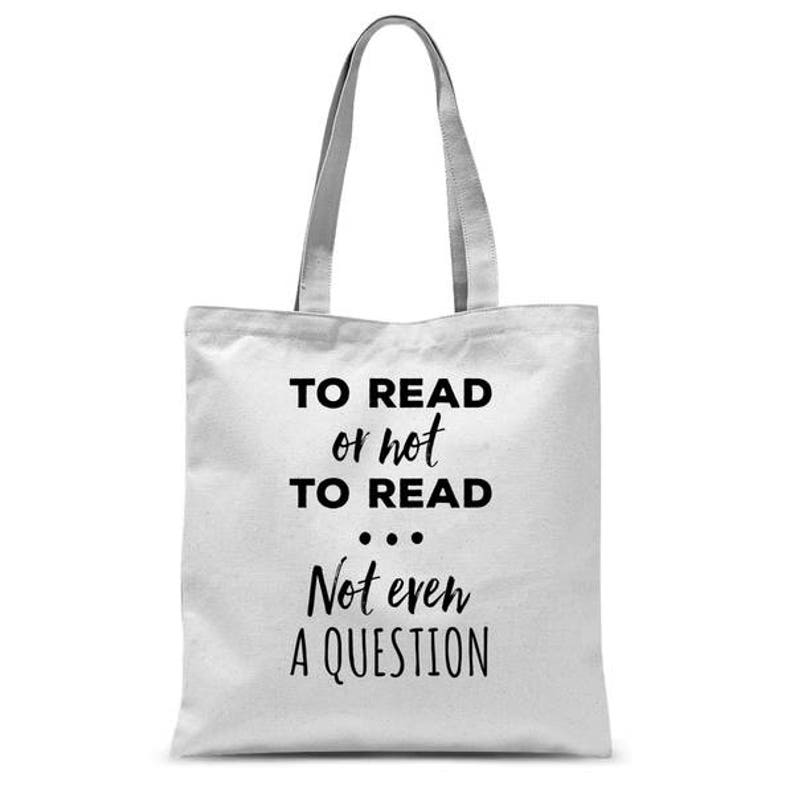 bookbag to read or not to read book lover tote bag bookworm  7caff5f3f9470