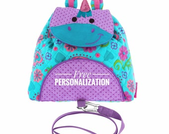 4f6fa6a107d0 Personalized toddler backpacks unicorn