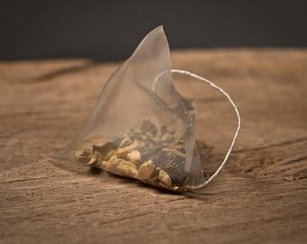 Chamomile Caffeine Free Pyramid Teabags - Herbal Tea - Flower Tea - Unusual - Tea Gift
