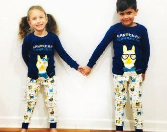 2add74ada Hanukkah pajamas