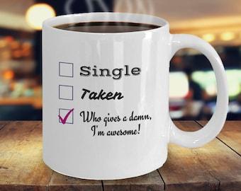 Funny Single Coffee Mug
