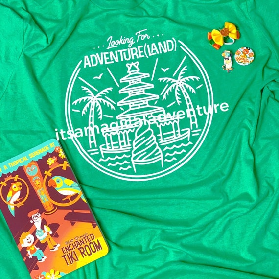 Looking for Adventure(land) T shirt