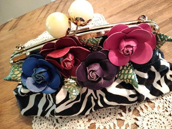 Sharif Designer Calfhair Handbag,Original by SHARI
