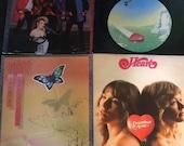 HEART Lot of 4 vintage classic rock vinyl records albums quot Dreamboat Annie quot quot Dog Butterfly quot quot Magazine quot quot Self Titled quot