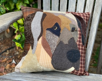 Great Dane Dog Pillow, Pet Pillow, Dog Decor, Dog Lover Gift, Cushion Cover