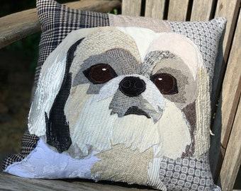 Shih Tzu Dog Pillow, Pet Pillow, Dog Decor, Dog Lover Gift, Cushion Cover