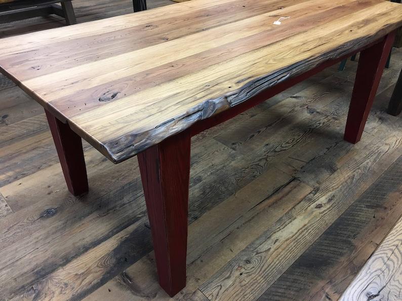 Barnwood Dining Table Reclaimed Wood Table Farmhouse Table Etsy