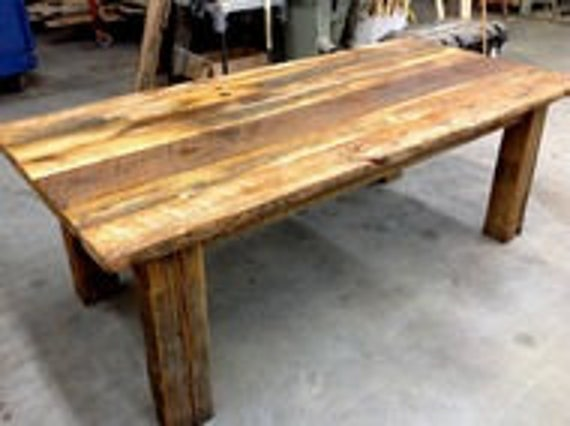 DIY Kit-Barnwood Dining Table Do It Yourself Reclaimed ...