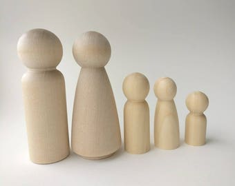 Character, Peg doll, Peg dolls, wooden toy, cake topper