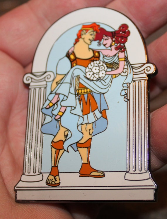 Pin Hercules Megara Wedding Limited Edition 50 Le50 Jumbo Fantasy Disney