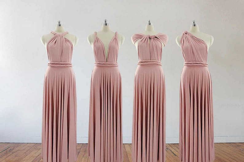 K'Mich Weddings - wedding planning services in Philadelphia PA - bridesmaids dresses - blush pink bridesmaids dresses - esty