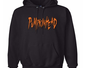 Pumpkinhead Unisex Hoodie Pullover Hooded Sweatshirt Many Sizes Colors Custom Horror Halloween Merch Massacre