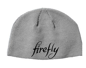 Firefly Serenity Joss Whedon Mutant Enemy Beanie Knitted Hat Cap Winter Clothes Horror Merch Massacre Christmas Black Friday