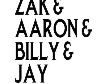 Ghost Adventures Zak Bagans Aaron Billy Jay Horror Vinyl Car Decal Bumper Window Sticker Halloween Any Color Multiple Sizes