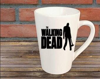 Walker Walking Dead Zombie Horror Mug Coffee Cup Halloween Gift Home Decor Kitchen Bar